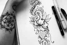 T a t t o o s / Pretty Tattoos