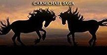 Carmichael Saga / Australian romantic saga, following the lives and loves of the fictional Carmichael family. Set in Tasmania, Australia.