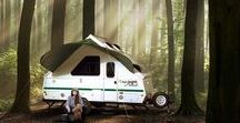 Wild ✧A-frame Camper / Hard side, pop-up A-frame trailers. Compact, lightweight and all around awesome!