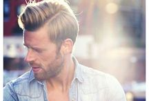 Men's Hairstyles / null / by Cyrus Wayne