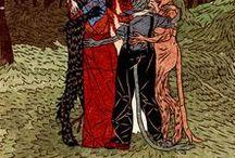 Arte: medieval, fantasia, monstros, demônios, estranhices
