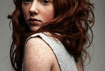 Rødt hår!