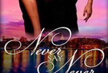 Never Say Never / Devastated by her divorce, single-mother Sabrina Parker returns to her hometown of Savannah, with her precocious daughter.  She meets attractive surgeon, Malcolm Winters who has moved to the small town to escape some demons of his own.  Can this once-bitten twice-shy divorcee find happiness with  the town's reclusive doctor?