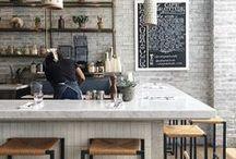 Interior Inspiration / Coffee shop and cafe interior decor inspiration