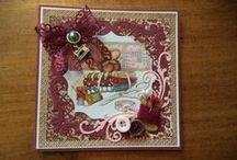 Handgemaakte wenskaarten door 'It Nifelhûske' / Deze kaarten heb ik zelf gemaakt. De meeste van de gebruikte materialen kun je terugvinden op www.nifelhuske.nl
