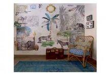 Murales y papel pintado / Los murales de papel pintado visten las paredes de tu hogar de manera original creando ambientes de decoración exclusivos