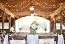 Vintage/Rustic  wedding decor