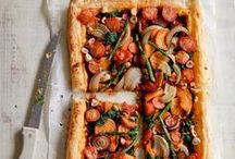 Pizza / Homemade whole wheat pizza is the best.  It is healthy and fun to make. #vegetarian #recipes