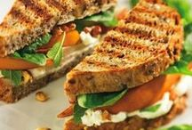 Sandwiches / #vegan #vegetarian #sandwich recipe #recipes #wraps #burritos #quesadillas #burgers