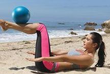 Abs, Arms & Posture / Chest, arms, arm jiggle, back, shoulders, posture, triceps, biceps, body weight, light weights, stability ball, abs, ab, six pack, love handles