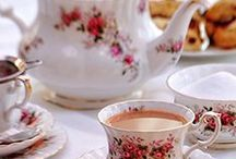 """Afternoon Tea with Barista Scones / """"A tea without scones is like a meal without a fork!"""" Create your own afternoon tea experience with decadent Barista Scones and warm cups of your favorite tea!"""
