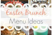Easter Brunch Ideas with Barista Scones / Nothing will sweeten up your Easter Brunch like some fresh out the oven, easy to make Barista Scones! Just pop them into the oven from your fridge and serve them with your favorite brunch items made at home!