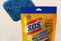 S.O.S® Non-Scratch Scrubber Videos / S.O.S® Non-Scratch Scrubbers clean non-stick cookware and other delicate surfaces with ease!  Check out the videos to see these cleaning powerhouses in action.