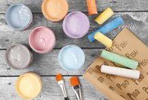 Chalky - liitumaalit / Chalky Vintage Look - liitumaaleilla toteutettuja ideoita