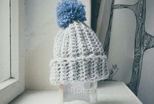woolen hats / All made by myself ➡ sPLotka
