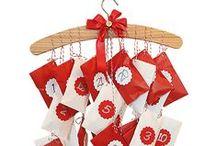 Joulukalenterit / Ideoita itsetehtyihin joulukalentereihin! Tarvikkeet Sinellistä!