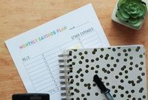 PlannerAddict / Do you love planners and time management?  Planning ideas, tips and tricks!