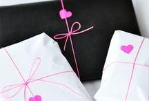 mit ♥ verpackt / Geschenke werden doppelt so schön, wenn sie eine außergewöhnliche Verpackung erhalten. Hier findet ihr die besten Ideen.