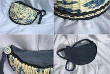 My paper wicker Bags