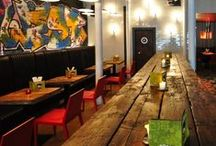 Restaurant  Interiors / Immerse yourself in inspiration with these exciting restaurant and kitchen designs.