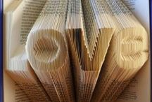 Recycled book art / Amazing transformations for old unwanted but beautiful books