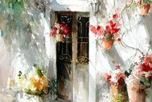 ♥Watercolor Paintings♥ / Watercolor art / by Reny W.Maksum