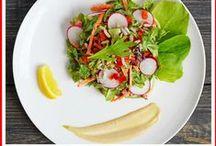 Salads / Raw, Vegan plant-based salads!