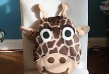 Amazing Pillows Kids Love / These fun handmade plush pillows makes the child in everyone smile. Go and make your home beautiful.