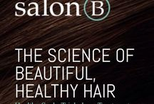 SalonB / We offer a healthy scalp, healthy hair trichology program and beautiful custom hair systems.  Watch the short videos & schedule online.