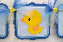 rubber duck party / Inspiration for Nicolas' christening