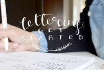 lettering tutorials / lettering tutorials