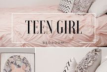 Teen Girls Room Decorating Ideas / Decorating a teen's room is always a challenge. Here is some inspiration. Go make your home beautiful.