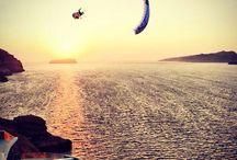Paraglide over Greece /  ( noborders.gr )