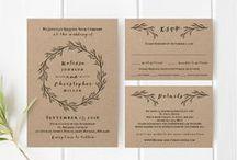 MOLLIE ♥ Hochzeitspapeterie / Die Vögel zwitschern, die Kleidung wird luftiger - und die Hochzeitssaison ist eröffnet :-) Hier findet ihr die neuesten Trends & Ideen für #Hochzeitskarten, #Einladungen & #Tischdeko - aus Papier!