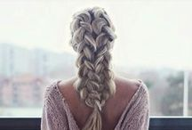 Head is important too! / head, hair, style, hairdresser, plait, braid, french, stylist