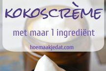 DIY skincare recipes | DIY huidverzorgingsrecepten / Recepten voor natuurlijke huidverzorginsproducten | informatie over de huid | recipes for natural skincare products | information about your skin