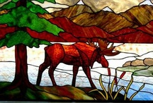 Landscapes by Phoenix Studio / Stained glass landscapes designed and produced by www.phoenixstudio.com