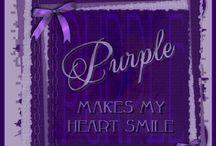 ~ Lavender-Purple-Lilac ~
