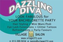 Bachelorette Party Ideas / It's wedding season! If your BFF is tying the knot, send her off with a fun bachelorette party.