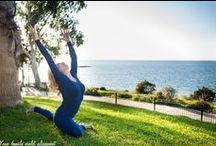 Yoga Family Violet Alignment 2 / Foteini Dimitriou yoga poses nature