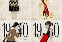 Vintage Style / Die Mode inspiriert sich immer neu in vergangenen Epochen und fügt sich mit dem Spirit der Gegenwart zu Trends der Zukunft.
