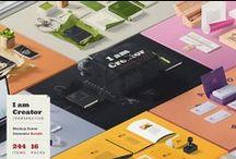 Design Products / Graphic Design, Web, Logos, Mockups, Templates, etc.