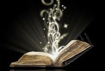 Inside a book