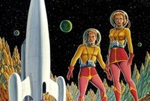 Retro Sci-Fi Illustration