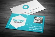 Business Cards / Business Cards & Design Elements
