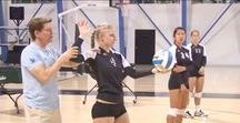 Volleyball Serve / The Volleyball Serve is the only skill that you can completely control.  Take the time to master it.