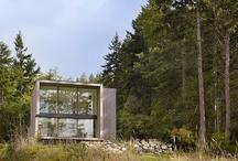 Juste pour rêver : Maison contemporaine en bois au fin fond de la campagne  / by Missbe Moneypenny