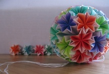Kusudama / Inspiration, and some of my own origami art. Check it all out and purchase at http://www.facebook.com/1000Pieces