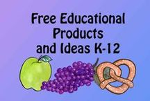 Free and Almost Free Educational Products and Ideas K-12 / This collaborative board is for free and low cost educational products and ideas.  Please post quality free items, and be polite.  If you would like to pin to this board, follow this board, then send me your request and Pinterest name.  Thanks for your interest in our products.  GrammaElliottCreations@gmail.com