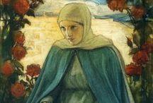 Virgin Mary in art...